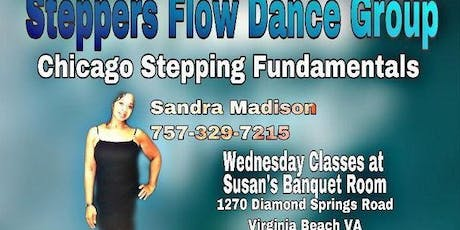 Steppers Flow Chicago Stepping Dance Class (5-Week Series) tickets