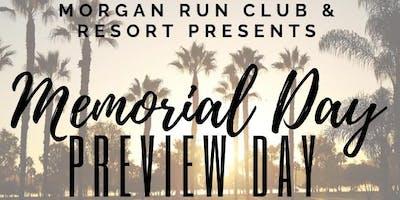 Morgan Run Memorial Day  ClubLIFE  Preview Day