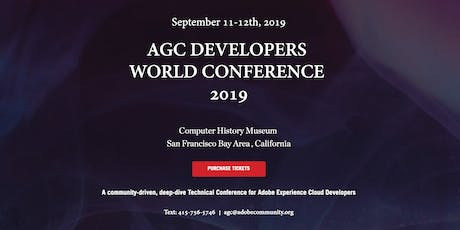 AGC Developers World Conference - 2019 tickets