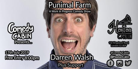 Comedy Cabin Presents: Punimal Farm tickets