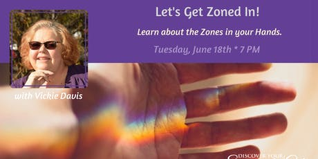 Scientific Hand Analysis: Let's Get Zoned In! tickets