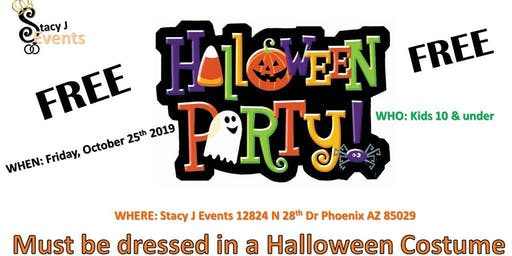 Happy Halloween Bash 4 Kids