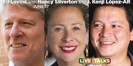 Ed Levine with Nancy Silverton and Kenji López-Alt