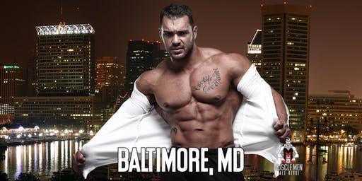 Muscle Men Male Strippers Revue & Male Strip Club Shows Baltimore MD 8 PM -10 PM