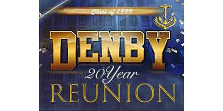 "Denby Reunion Class of ""1999"" tickets"