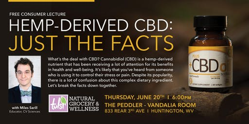Hemp-Derived CBD: Just The Facts