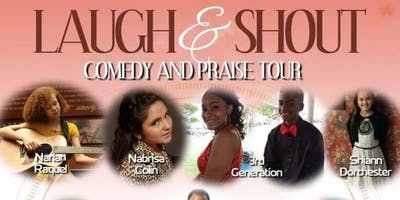 Laugh and Shout Comedy And Praise Tour:Okmulgee Oklahoma Edition