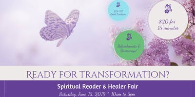 Spiritual Reader & Healer Fair: Are You Ready for Transformation?