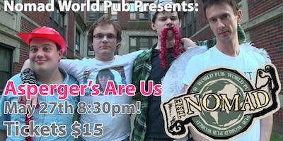 Asperger's Are Us! Comedy with Special Guest Jamie Loftus!