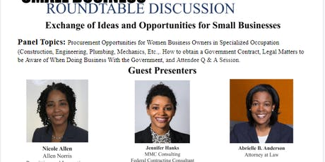 Small Business Roundtable Discussion tickets