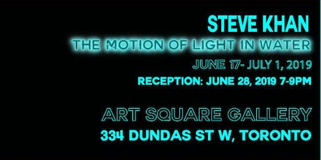 Reception for The Motion of Light in Water tickets