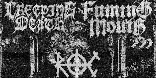 CREEPING DEATH, FUMING MOUTH, LANGUISH LIVE AT SPACE