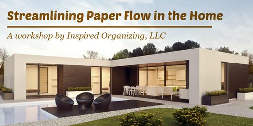 Streamlining Paper Flow in the Home