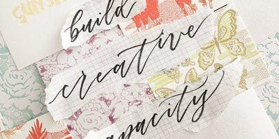 Cursive, Calligraphy and Brush Lettering for Teens @All Hands Workshops