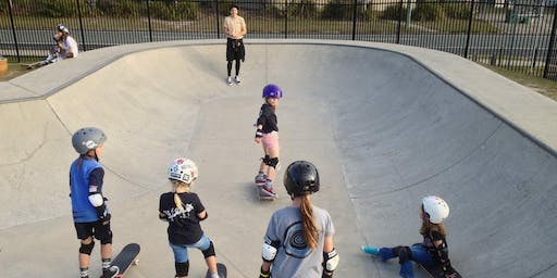 'QUEENS OF SKATE' Beginners Program; Term 2, 2019