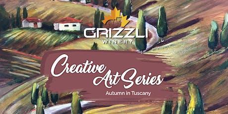 Creative Art Series: Autumn in Tuscany tickets