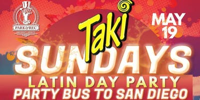 North County San Diego Party Bus to Taki Sundays(May 19th)