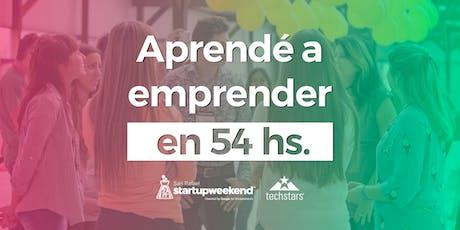 Techstars Startup Weekend San Rafael, Mendoza 2019 tickets