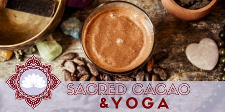 Sacred Cacao & Yoga – 2hrs of blissful chocolate relaxation  tickets