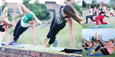 Pure Barre Class at the Rochester Red Wings Stadium!