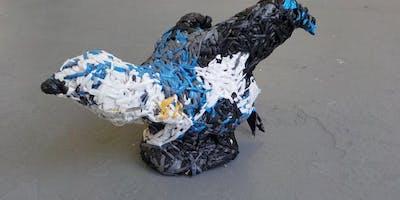 Eco-Crafting: Mixed Media Sculpture