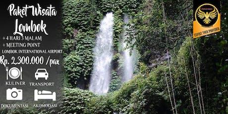 Paket Wisata Lombok 4 Hari 3 Malam Murah tickets