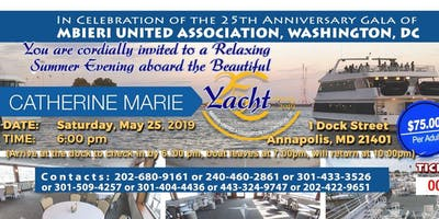 Summer Cruise with Mbieri United Association, Washington D.C. Chapter