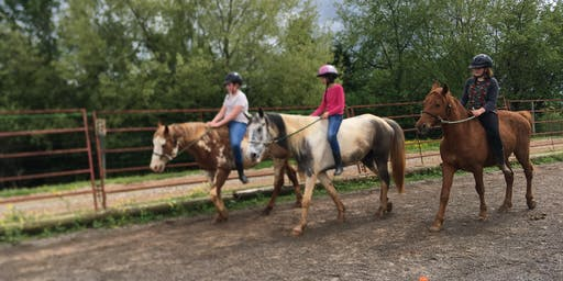 Week 2 of Summer Horse Camp