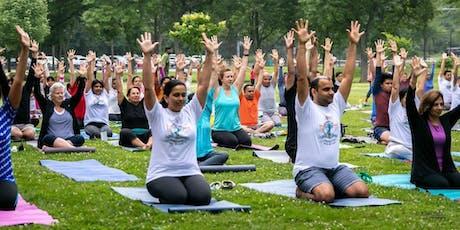 Art Of Living Celebrates International Day of Yoga on June 23rd @ Roosevelt tickets