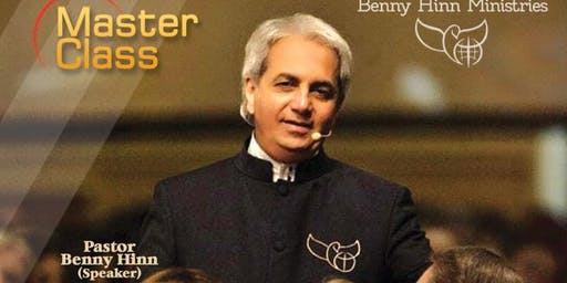 Masterclass session with pastor Benny Hinn