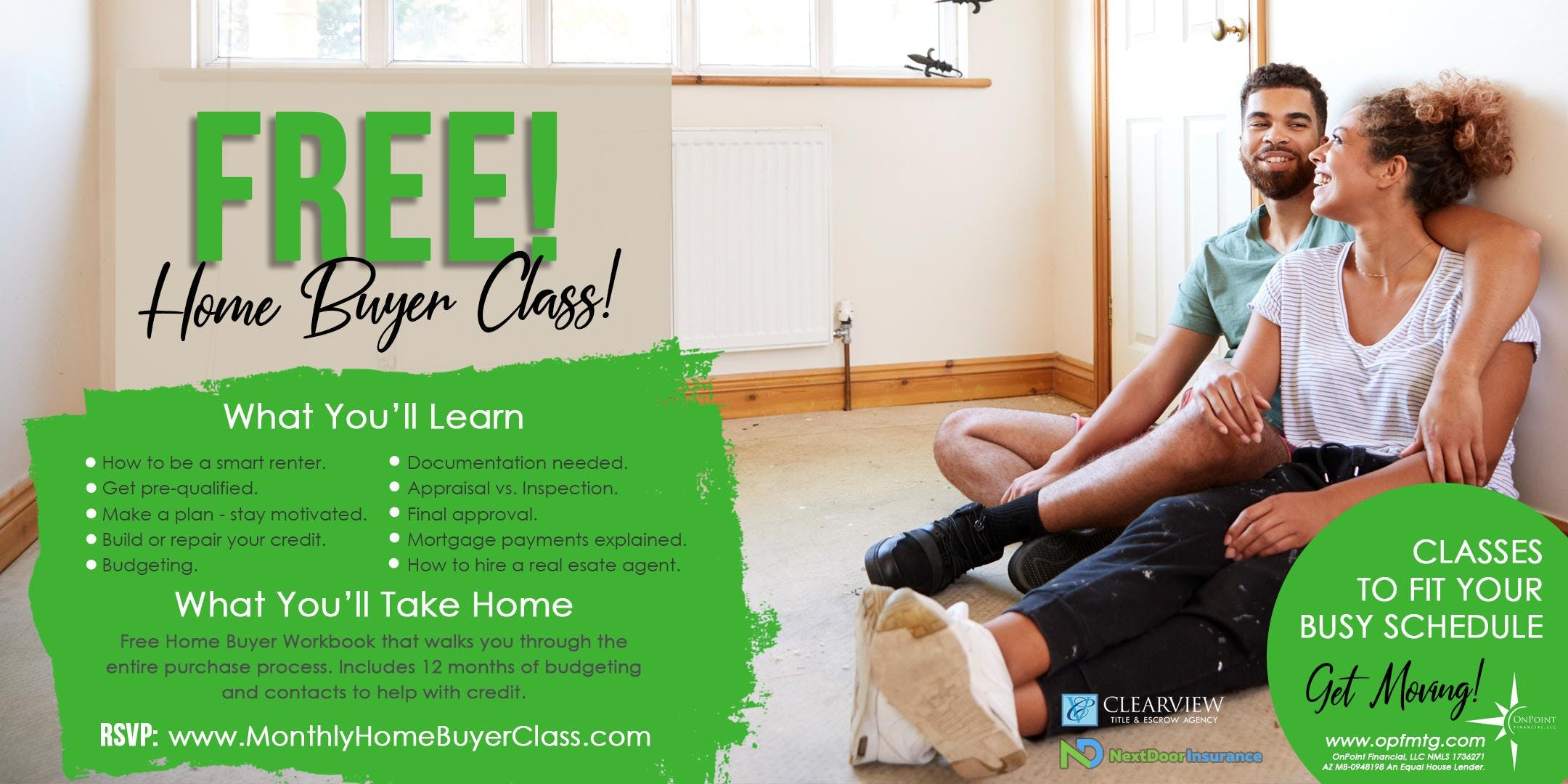 Free Home Buyer Class