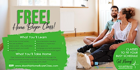 Free Home Buyer Class tickets