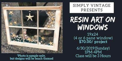 Resin Art on Windows