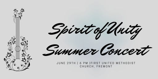 Spirit of Unity - Summer Concert