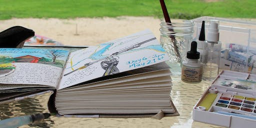 Intro to Creative Journaling- with Drawing, Ink & Watercolour (day retreat)