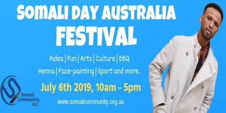 SOMALI DAY AUSTRALIA FESTIVAL 2019 tickets