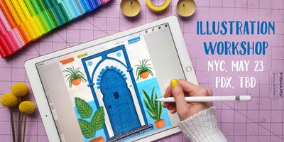 Illustration using Procreate: Create a Drawing Step by Step