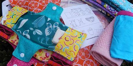 Plastic Free July Sanitary Pads Workshop with Days For Girls 2 tickets