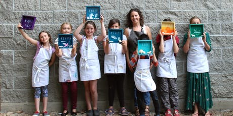 Summer Fine Art Camp, Ages 9-12 (Week 2: July 22-26) tickets