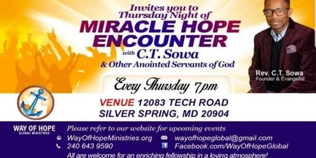 Miracle Hope Encounter  tickets