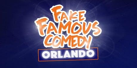 Fake Famous Tour (Orlando) tickets