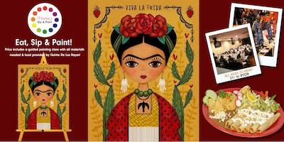 Museica's BYOB Dine & Paint - FRIDA KAHLO (Includes Food!)