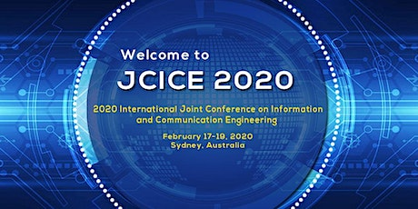 2020 International Joint Conference on Information and Communication Engineering(JCICE 2020) tickets