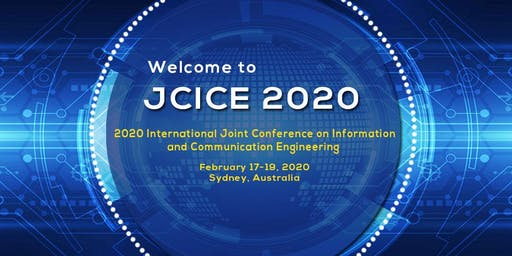 2020 International Joint Conference on Information and Communication Engineering(JCICE 2020)