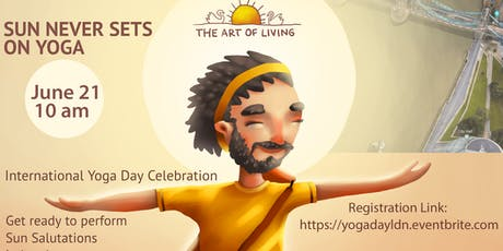 International Yoga day 2019 : Sri Sri Yoga Yogathon tickets