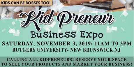 Kidpreneur Business Expo tickets