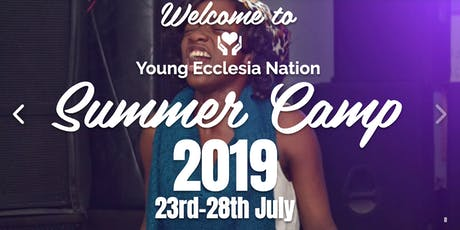 Young Ecclesia Nation Summer Camp 2019 tickets