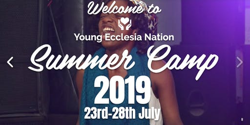 Young Ecclesia Nation Summer Camp 2019