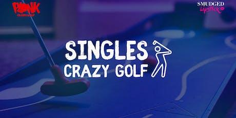Singles Crazy Golf - Shoreditch tickets
