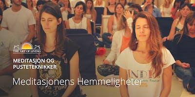 Meditasjonens hemmeligheter i Oslo